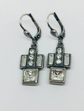 La Vie Parisienne Art Deco Earrings