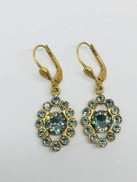 La Vie Parisienne Pyrite Drop Earrings