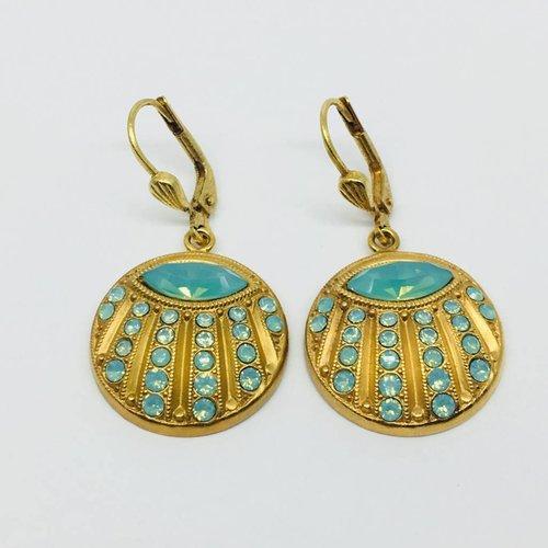 La Vie Parisienne Disc earrings