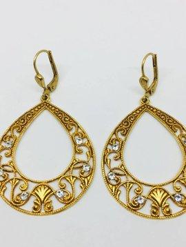 La Vie Parisienne Lever Back Earrings
