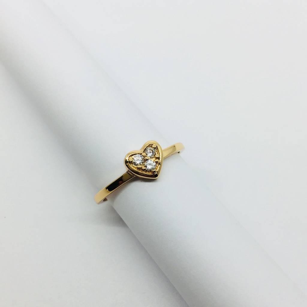 Rachael Ryen Pave Heart Ring