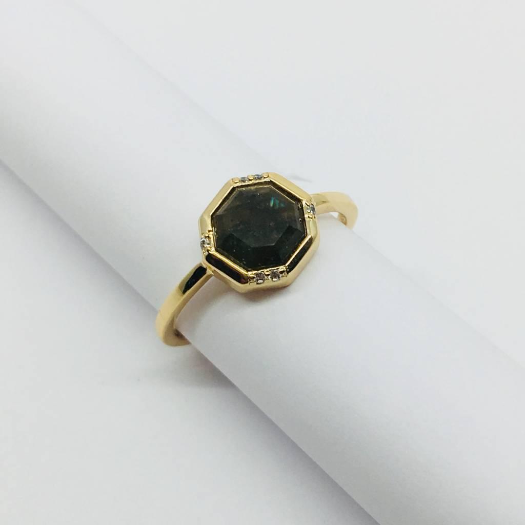 Rachael Ryen Onyx Octagon Ring