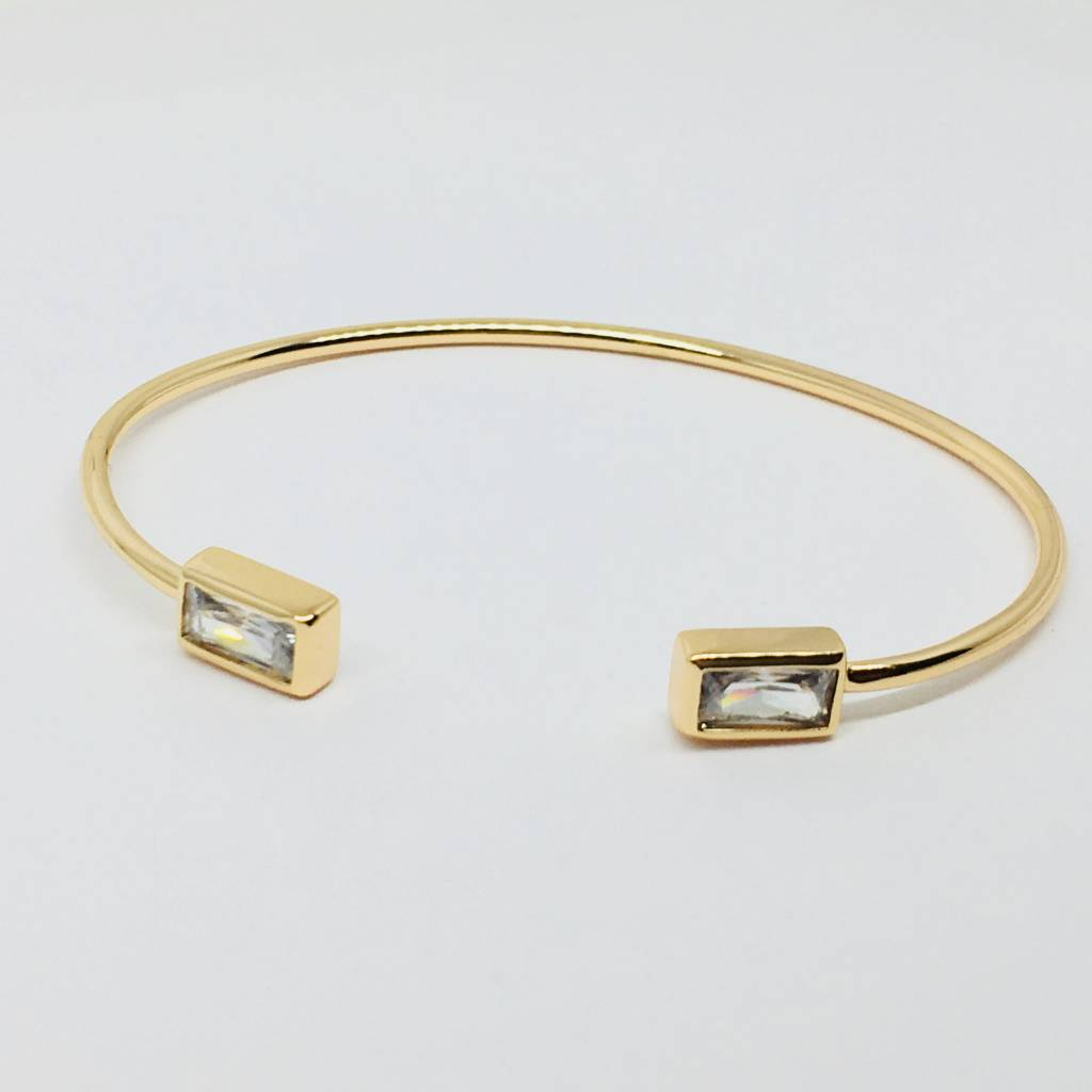 Rachael Ryen Rectangle Crystal Bracelet