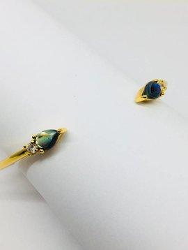 Rachael Ryen Pear Stone Bracelet