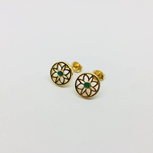 Rachael Ryen Flower Earrings