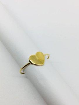 Cloverpost Heart Ring