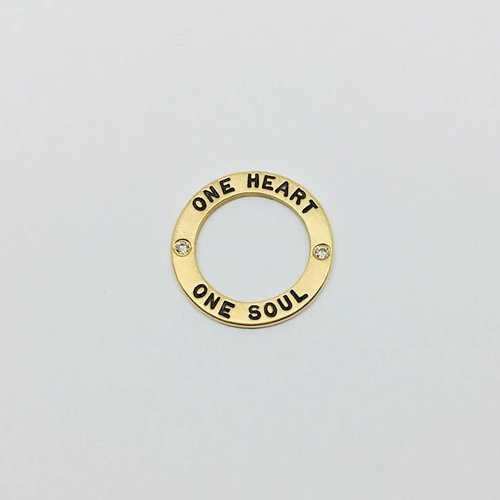 """Heather Moore """"One Heart..."""" Open Charm"""