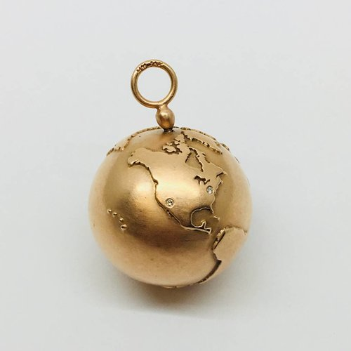 Heather Moore Rose Gold Globe