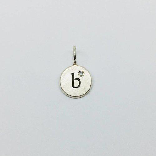 "Heather Moore ""B"" Initial Charm"