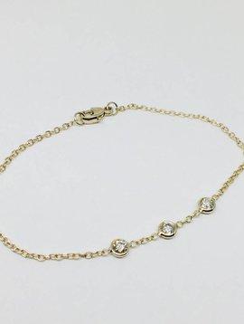 Heather Moore Triple Bezel Bracelet