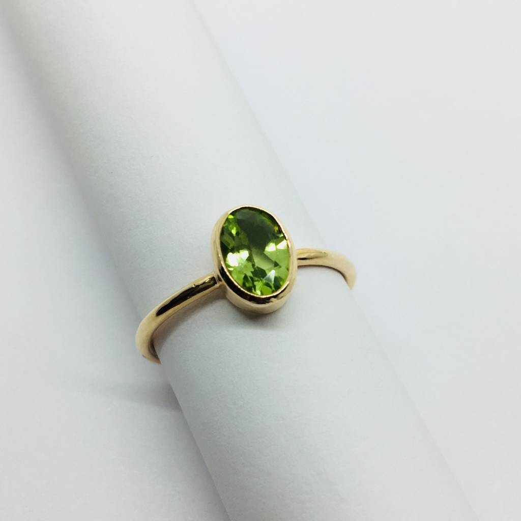 Lotasi Green Sapphire Ring