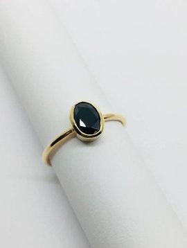 Lotasi Dark Blue Sapphire Ring
