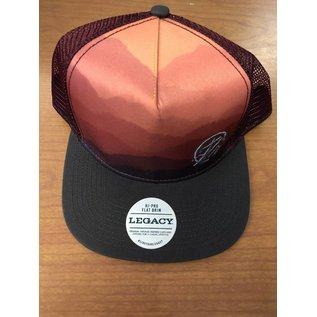 Mountain Sunrise Flat Bill Hat