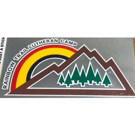 Rainbow Mountain Decal