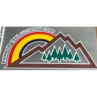 Rainbow Mountain Decal