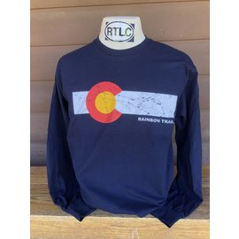 Colorado Flag Adult Long Sleeve
