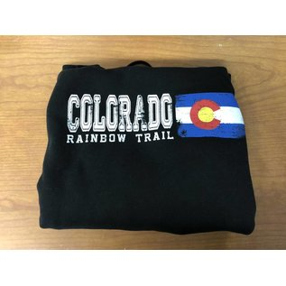 Colorado Flag Adult Hoodie