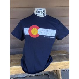 Colorado Flag Adult Short Sleeve