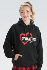 GK Elite Red Heart Hooded Sweatshirt