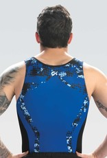 GK Elite 1886M - GK SINGLET SUBLIMÉ ROYAL