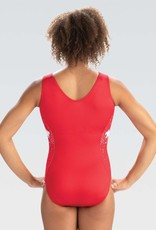 GK Elite E4069- Red Star Dust Show Tank Leotard