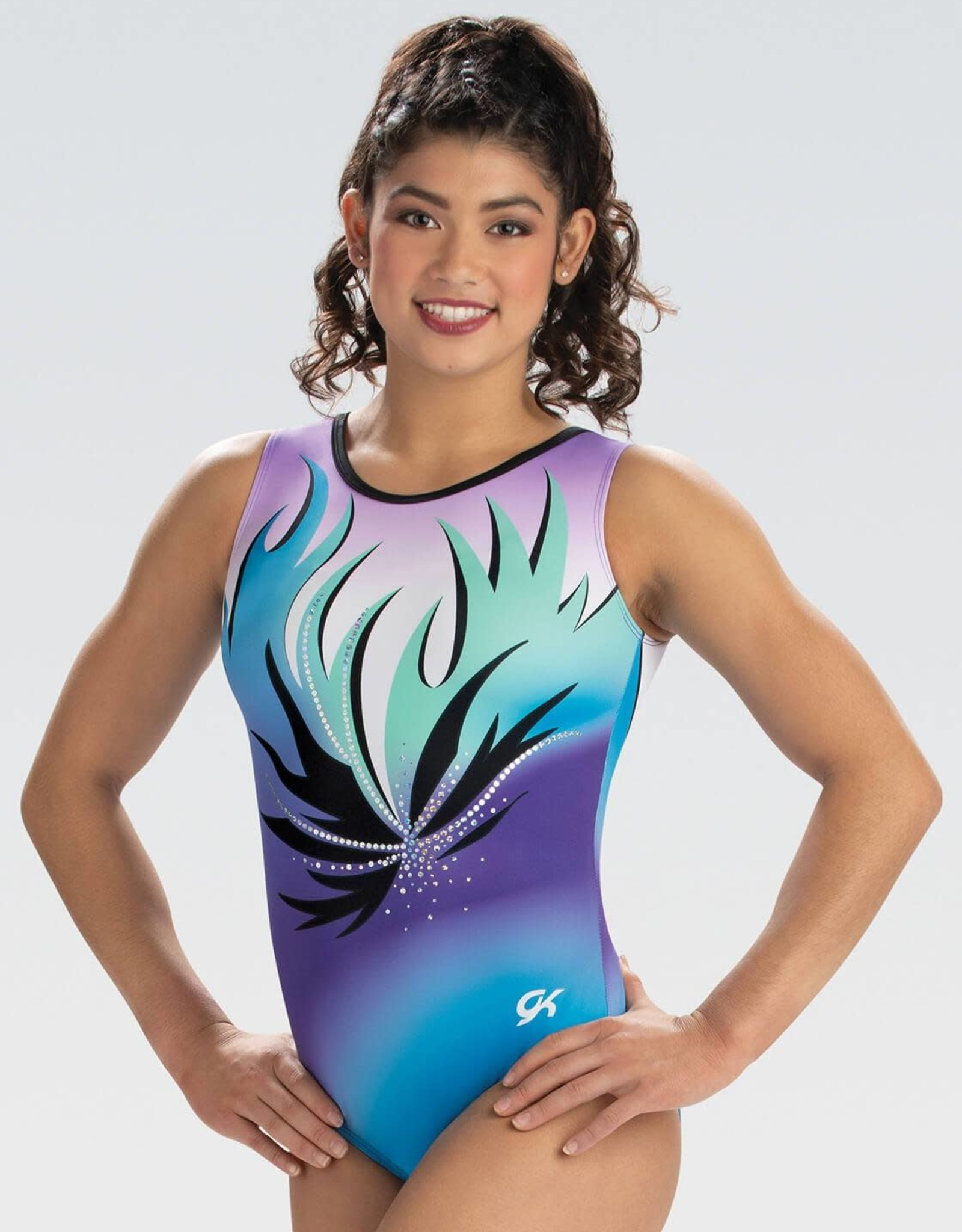 GK Elite 10526- Soft Burst Tank Léotard