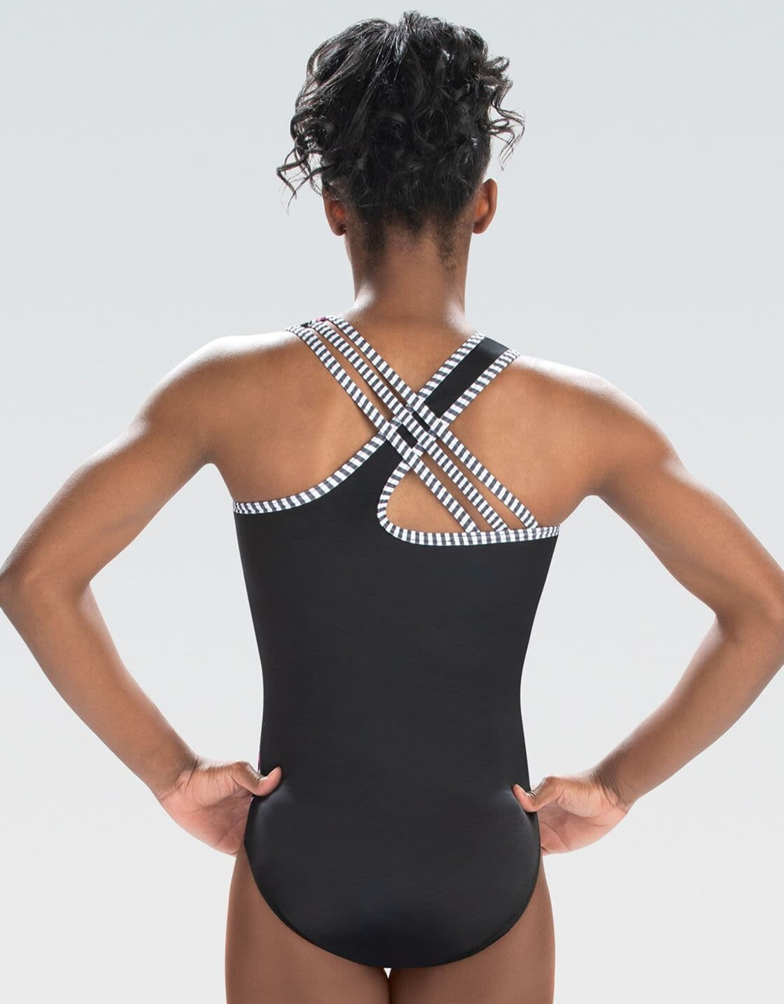 GK Elite E4148- Urban Cheetah Tank Leotard