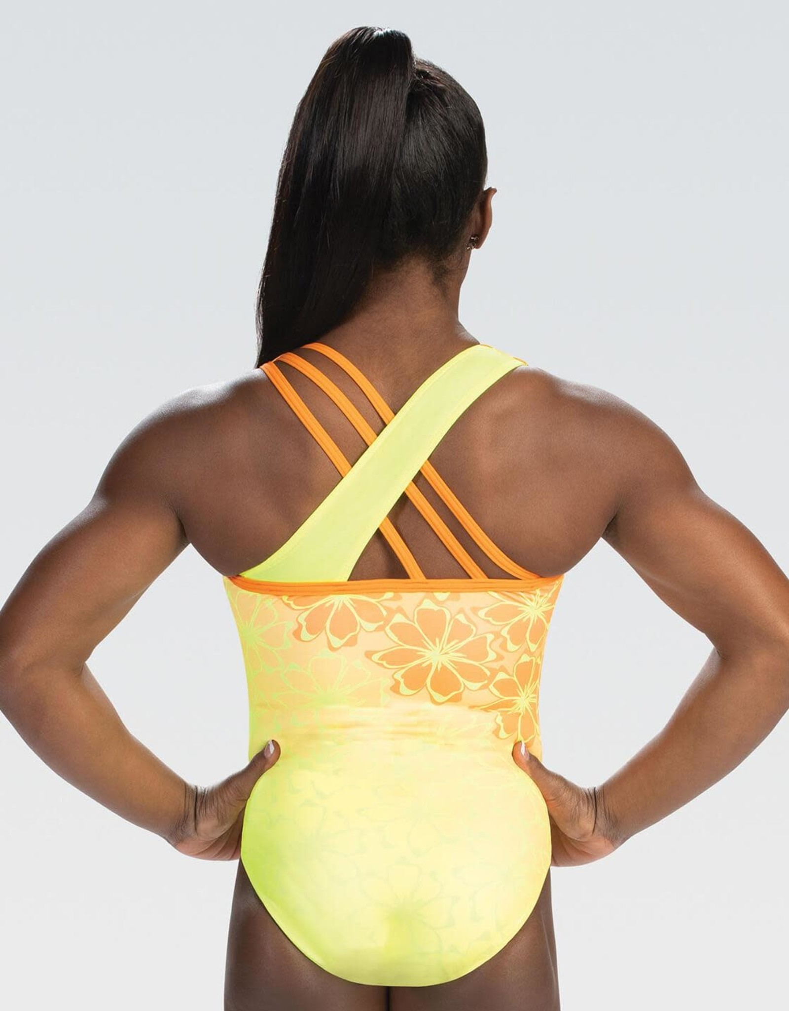 GK Elite  E4165- Simone Biles Sunshine Sensation Tank Leotard