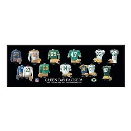 Green Bay Packers Legacy Uniform Plaque