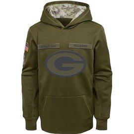 Nike Green Bay Packers Men's 2018 Salute To Service Hoodie