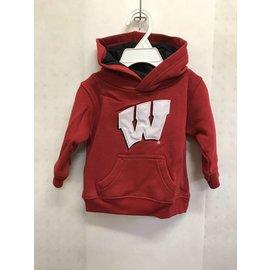 Wisconsin Badgers Youth Prime Fleece Hoodie