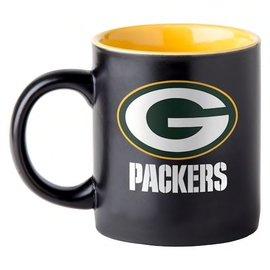 Green Bay Packers 14 oz Black Matte Mug