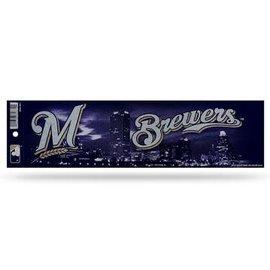Milwaukee Brewers Bling Bumper Sticker