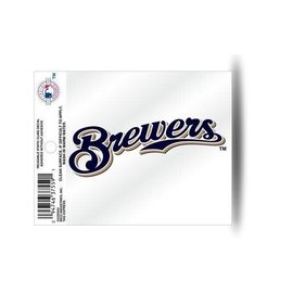Milwaukee Brewers Secondary Logo Small Static Cling