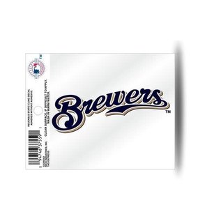Rico Industries, Inc. Milwaukee Brewers Secondary Logo Small Static Cling