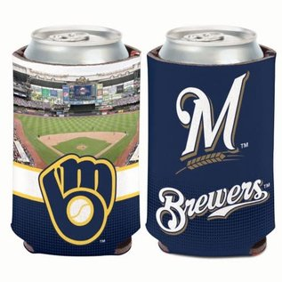 Milwaukee Brewers 2 Sided Stadium Can Cooler