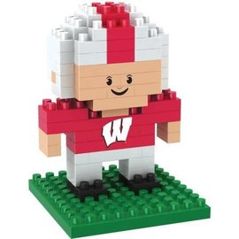 Forever Collectibles Wisconsin Badgers Player BRXLZ