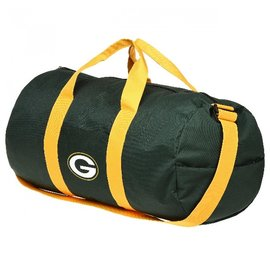 Forever Collectibles Green Bay Packers Vessel Barrel Duffle Bag