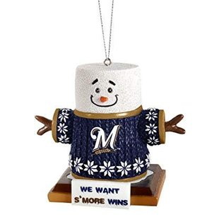 Forever Collectibles Milwaukee Brewers Smores Ornament