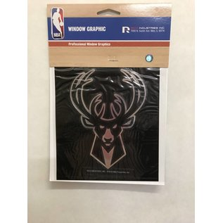 Rico Industries, Inc. Milwaukee Bucks Window Graphic