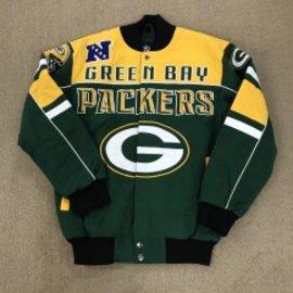 Green Bay Packers Men's Twill Jacket