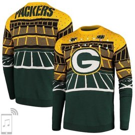 Forever Collectibles Green Bay Packers Men's Bluetooth Light Up Sweater