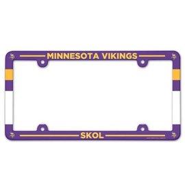Minnesota Vikings Skol Color license plate frame