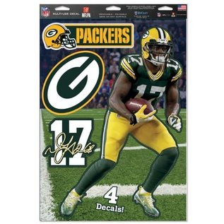 WinCraft, Inc. Green Bay Packers Devante Adams 11x17 Multi Use Decals