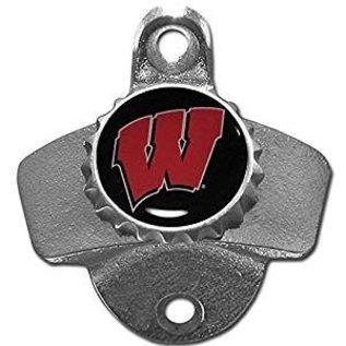 Wisconsin Badgers Wall Mount Bottle Opener