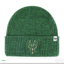 '47 Brand Milwaukee Bucks Brain Freeze Knit Hat