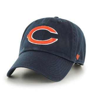 Chicago Bears Clean Up Adjustable Hat