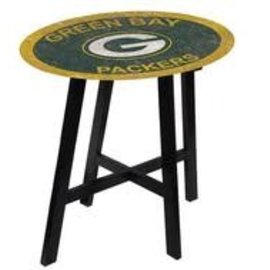 Green Bay Packers Distressed Pub Table