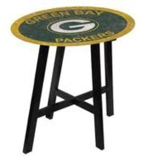 Fan Creations Green Bay Packers Distressed Pub Table