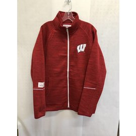 G III Wisconsin Badgers Men's Full Zip Track Jacket